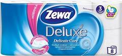 Фото Zewa Туалетная бумага Deluxe Delicate Care 3-слойная 8 шт