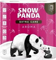 Фото Сніжна панда Туалетная бумага Extra Care Aroma 4-слойная 4 шт