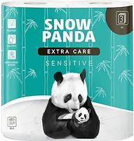 Фото Сніжна панда Туалетная бумага Extra Care Sensitive 3-слойная 4 шт