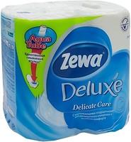 Фото Zewa Туалетная бумага Deluxe Delicate Care 3-слойная 4 шт