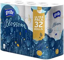 Фото Grite Туалетная бумага Blossom 32 шт