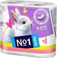Фото Bella Туалетная бумага Karo 2-слойная белая 4 шт