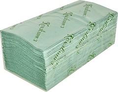 Фото Кохавинка Бумажные полотенца листовые зеленые 200 шт