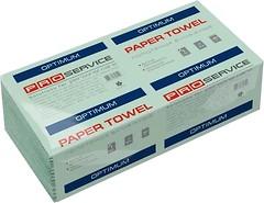 Фото PROservice Бумажные полотенца Optimum V 1-слойные зеленые 160 шт (33760920)