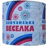 Фото Вовчанська Веселка Туалетная бумага серая 1-слойная 90 мм 1 шт