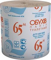 Фото Обухiв Туалетная бумага 1-слойная серая 1 шт
