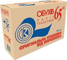 Фото Обухiв Туалетная бумага 1-слойная серая 48 шт