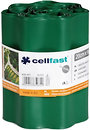 Фото Cellfast бордюрная лента 9 м x 20 см, темно-зеленый (30-023)