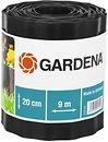 Фото Gardena бордюрная лента 9 м x 20 см, черный (00534-20)