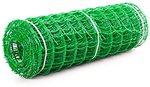 Фото Клевер декоративная 1x20 м зеленая ячейки 50x50 мм