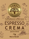 Фото Forest Espresso Crema в зернах 1 кг