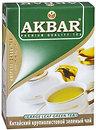 Фото Akbar Чай зеленый крупнолистовой (картонная коробка) 100 г