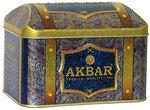 Фото Akbar Купаж черного и зеленого чая крупнолистовой Orient Mystery (жестяная коробка) 250 г