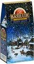 Фото Basilur Чай черный крупнолистовой Подарочная коллекция Морозная ночь (картонная коробка) 100 г 71110