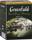 Фото Greenfield Чай черный среднелистовой Earl Grey Fantasy (картонная коробка) 100 г