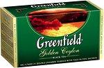 Фото Greenfield Чай черный пакетированный Golden Ceylon (картонная коробка) 25x2 г