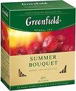 Фото Greenfield Чай каркаде пакетированный Summer Bouquet (картонная коробка) 100x2 г