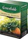 Фото Greenfield Чай зеленый среднелистовой Tropical Marvel (картонная коробка) 100 г