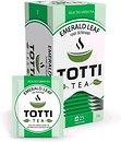 Фото TOTTI Чай зелёный пакетированный Emerald Leaf (картонная коробка) 25x2 г