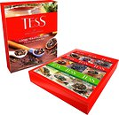 Фото Tess Набор черного и зеленого чая байховый Loose Tea Collection (картонная коробка) 355 г