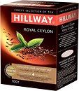 Фото Hillway Чай черный байховый Royal Ceylon (картонная коробка) 100 г