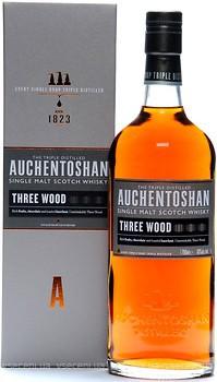 Фото Auchentoshan Three Wood 8 YO 0.7 л в подарочной коробке
