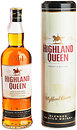 Фото Highland Queen Blended Scotch Whisky 0.7 л в тубе