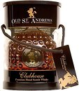 Фото Old St. Andrews Clubhouse Blended Scotch Whisky 0.7 л в тубе