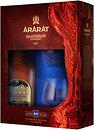 Фото ARARAT Ахтамар 10 лет выдержки 0.7 л + 2 бокала