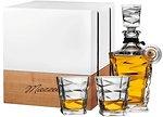 Фото Mazzetti Grappa di Barbera Bohemia Riserva 2011 0.7 л в деревянной коробке с 2 стаканами