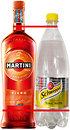 Фото Martini Fiero 0.75 л + Schweppes Indian Tonic 1 л