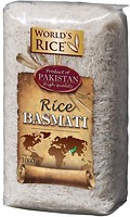 Фото World's Rice basmati Pakistan 1 кг