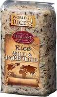 Фото World's Rice wild + parboiled 900 г