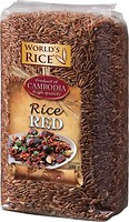 Фото World's Rice red cambodia 500 г