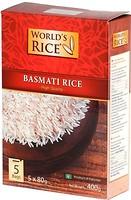 Фото World's Rice basmati 5x 80 г