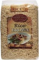 Фото World's Rice brown 500 г