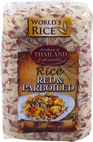 Фото World's Rice red + parboiled 500 г