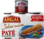 Фото Argal паштет из свиной печени Pate De Higado De Cerdo Sabor Suave 6x83 г