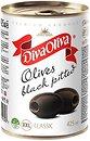 Фото Diva Oliva маслины крупные черные XXL без косточки 425 мл