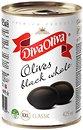 Фото Diva Oliva маслины крупные черные XXL с косточкой 425 мл