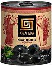 Фото Ellada маслины черные с косточкой 850 мл