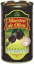 Фото Maestro de Oliva маслины черные без косточки 360 г