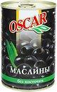 Фото Oscar маслины черные без косточки 432 мл