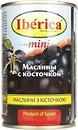 Фото Iberica маслины черные мини с косточкой 300 г