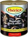 Фото Iberica маслины черные огромные с косточкой 3 кг