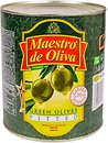 Фото Maestro de Oliva оливки зеленые без косточки 3 кг
