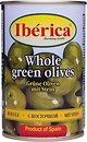 Фото Iberica оливки зеленые с косточкой 300 г