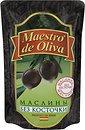 Фото Maestro de Oliva маслины черные без косточки 170 г