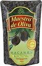 Фото Maestro de Oliva маслины черные с косточкой 170 г
