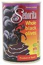 Фото Senorita маслины черные с косточкой 420 г